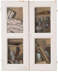 """Ethnology in the trompe l'oeil """"The barber's self"""""""