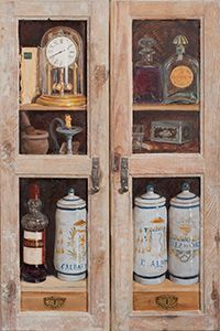 """Trompe-l'oeil """"Things of the grandfather"""""""