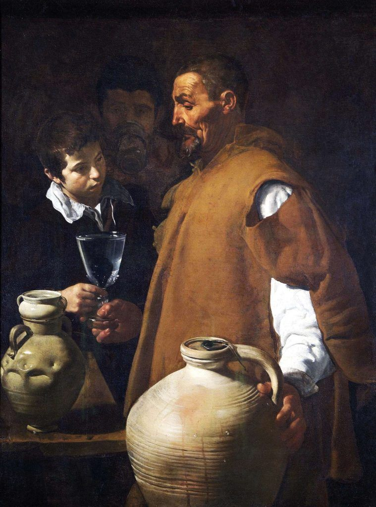 The wather seller of Sevilla by Velázquez