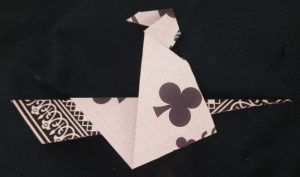 Witch folded with playing card (Kasahara)