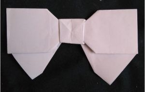 Bow tie for evening dress
