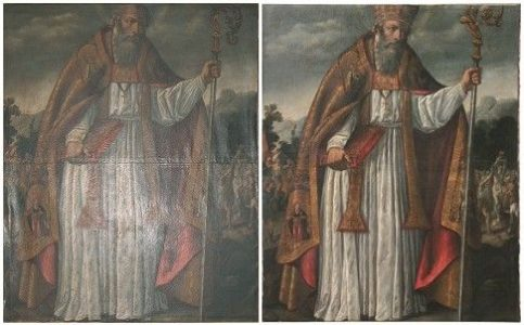 San Blas Before and after treatment